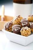 η σοκολάτα κύπελλων πο&upsilo Στοκ εικόνα με δικαίωμα ελεύθερης χρήσης