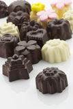 Η σοκολάτα μεταχειρίζεται Στοκ φωτογραφίες με δικαίωμα ελεύθερης χρήσης