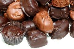 η σοκολάτα μεταχειρίζε&tau Στοκ Εικόνες