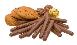 η σοκολάτα μπισκότων απομ Στοκ φωτογραφία με δικαίωμα ελεύθερης χρήσης