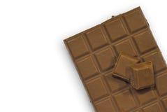 η σοκολάτα ράβδων ανασκόπ&e Στοκ φωτογραφία με δικαίωμα ελεύθερης χρήσης