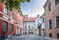 Η σουηδική πύλη στην παλαιά πόλη της Ρήγας Στοκ Εικόνα