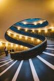 Η σπειροειδής σκάλα στα μουσεία Βατικάνου Στοκ φωτογραφία με δικαίωμα ελεύθερης χρήσης