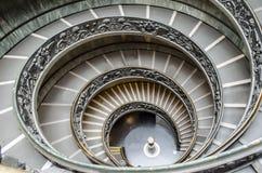 Η σπειροειδής σκάλα Βατικάνου Στοκ Εικόνες