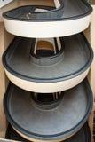 Η σπειροειδής σκάλα στοκ εικόνες με δικαίωμα ελεύθερης χρήσης