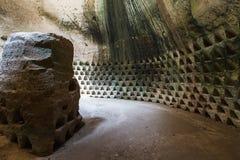 Η σπηλιά AR στοιχημάτισε σε Guvrin το εθνικό πάρκο στοκ φωτογραφία με δικαίωμα ελεύθερης χρήσης