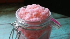 Η σπιτική ζάχαρη τρίβει στοκ φωτογραφία με δικαίωμα ελεύθερης χρήσης