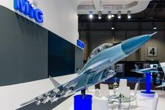 Η στάση της ενωμένης εταιρίας αεροσκαφών (Ρωσία) Στοκ εικόνα με δικαίωμα ελεύθερης χρήσης