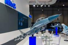 Η στάση της εταιρίας αεροσκαφών Unated (Ρωσία) Στοκ φωτογραφία με δικαίωμα ελεύθερης χρήσης