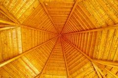 Η στέγη ενός περίπτερου στοκ φωτογραφία με δικαίωμα ελεύθερης χρήσης