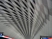 Η στέγη ενός σταθμού και είναι κάθε πράγμα εντάξει; Στοκ Φωτογραφίες