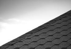 Η στέγη κεραμώνει το υπόβαθρο γραμμών Στοκ Εικόνες