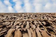 Η στέγη στο μπλε ουρανό Στοκ φωτογραφία με δικαίωμα ελεύθερης χρήσης