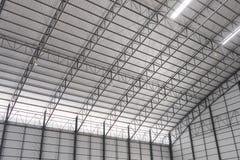Η στέγη της αποθήκης εμπορευμάτων Στοκ εικόνες με δικαίωμα ελεύθερης χρήσης