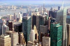 Η στέγη της μεγάλης Νέας Υόρκης της Apple, τον Αύγουστο του 2014 Στοκ φωτογραφία με δικαίωμα ελεύθερης χρήσης