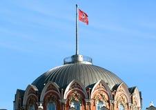 Η στέγη του διακινούμενου παλατιού του Peter στη Μόσχα Στοκ Εικόνες