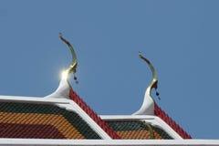 Η στέγη του ναού του Βούδα Στοκ Φωτογραφίες