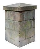 Η στήλη για την αναδρομική πύλη κάστρων αποτελείται από processe κατά προσέγγιση Στοκ φωτογραφία με δικαίωμα ελεύθερης χρήσης