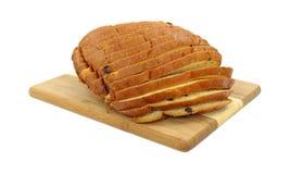η σταφίδα ψωμιού τεμάχισε &tau Στοκ φωτογραφία με δικαίωμα ελεύθερης χρήσης
