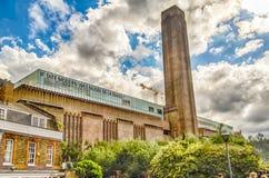 Η στοά του Tate Modern, Λονδίνο Στοκ Φωτογραφία