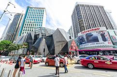 Η στοά Starhill είναι μια λιανική λεωφόρος πολυτέλειας που βρίσκεται στην περιοχή αγορών Bukit Bintang KL, Μαλαισία Παρατίθεται ω στοκ εικόνες