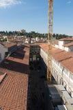 Η στοά Uffizi σε μια ηλιόλουστη ημέρα Άποψη από Palazzo Vecchio Φλωρεντία Ιταλία Τοσκάνη Στοκ φωτογραφίες με δικαίωμα ελεύθερης χρήσης