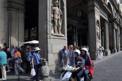 Η στοά Uffizi στη Φλωρεντία, Itatly Στοκ εικόνες με δικαίωμα ελεύθερης χρήσης
