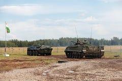 Η στρατιωτική επίδειξη Στοκ φωτογραφία με δικαίωμα ελεύθερης χρήσης