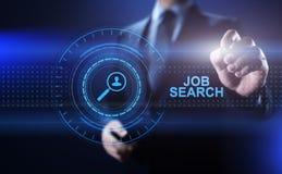 Η στρατολόγηση μίσθωσης αναζήτησης εργασίας στέλνει το βιογραφικό σημείωμα επαναλαμβάνει την επιχειρησιακή έννοια στοκ φωτογραφία με δικαίωμα ελεύθερης χρήσης