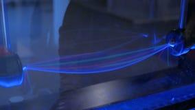 Η συγκεκριμένη συσκευή παρουσιάζει μετασχηματισμό του φωτεινού κύματος απόθεμα βίντεο