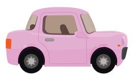 η συγκομιδή αυτοκινήτων ανασκόπησης περιέλαβε εύκολα έξω το ροζ μονοπατιών στο διάνυσμα Στοκ φωτογραφία με δικαίωμα ελεύθερης χρήσης