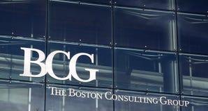 Η συμβουλευτική ομάδα BCG της Βοστώνης Στοκ Φωτογραφίες