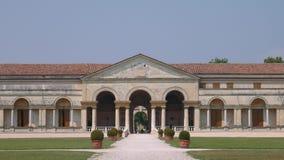 Η συμμετρική πρόσοψη Te Palazzo, κλείνει επάνω απόθεμα βίντεο