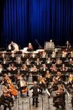 Η συμφωνική ορχήστρα Savaria εκτελεί στοκ φωτογραφία