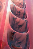 Η συνήθεια GMC Yukon που χρωματίζεται γύρο στην επίδειξη κατά τη διάρκεια του ΑΝΤΙΓΡΆΦΟΥ παρουσιάζει στοκ εικόνες