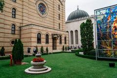 Η συναγωγή οδών Dohany, επίσης γνωστή ως μεγάλη συναγωγή Στοκ εικόνες με δικαίωμα ελεύθερης χρήσης