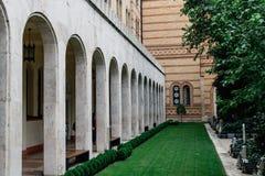Η συναγωγή οδών Dohany, επίσης γνωστή ως μεγάλη συναγωγή Στοκ φωτογραφία με δικαίωμα ελεύθερης χρήσης