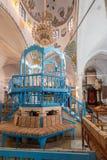 Η συναγωγή Abuhav, στο εβραϊκό τέταρτο, Safed &#x28 Tzfat&#x29  Στοκ Εικόνες