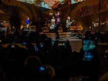 Η συναυλία φεγγαριών των Rolling Stones Αβάνα στοκ εικόνες