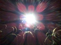Η συναυλία πτώσης στοκ εικόνες