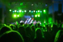 Η συναυλία Στοκ φωτογραφία με δικαίωμα ελεύθερης χρήσης