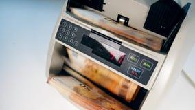 Η συσκευή υπολογισμού μετρά τους ευρο- λογαριασμούς απόθεμα βίντεο