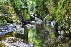 Η συχνασμένη νεράιδα Glen betws-Υ- Στοκ εικόνες με δικαίωμα ελεύθερης χρήσης