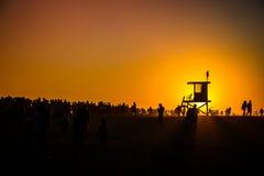Η σφήνα στο Newport Beach Στοκ φωτογραφίες με δικαίωμα ελεύθερης χρήσης