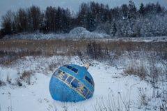 Η σφαίρα Χριστουγέννων Στοκ εικόνες με δικαίωμα ελεύθερης χρήσης