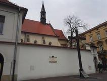 Η σφαγή του Κατίν στην Κρακοβία, Πολωνία στοκ εικόνα με δικαίωμα ελεύθερης χρήσης