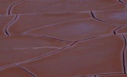 Η σφαιρική αλλαγή clima γυρίζει τις περιοχές στην ξηρά έρημο στοκ εικόνες