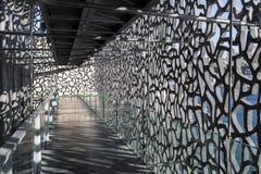 Η σύγχρονη οικοδόμηση του μουσείου ευρωπαϊκού και της Μεσογείου Civi Στοκ Φωτογραφίες