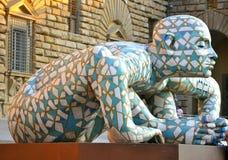 Η σύγχρονη τέχνη εμφανίζει στη Φλωρεντία, Ιταλία Στοκ εικόνα με δικαίωμα ελεύθερης χρήσης