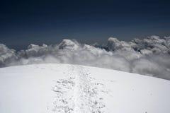 Η σύνοδος κορυφής στοκ φωτογραφίες